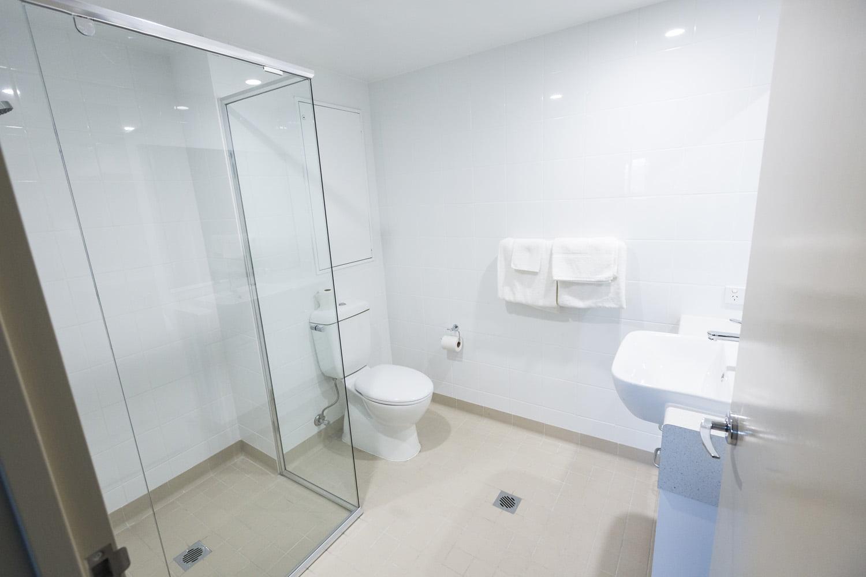 Studio rooms feature a private bathroom